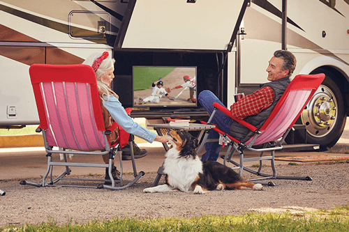 Watch DISH TV Outdoors in the RV- DES MOINES, IA - MY ULTIMATE TV - DISH Authorized Retailer